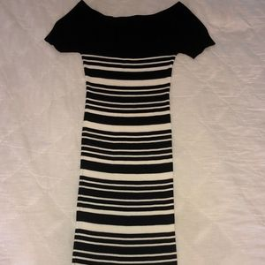 Off-the-Shoulder Midi Dress *GREAT CONDITION*